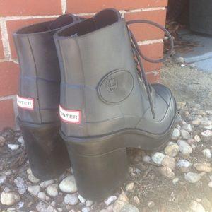 Hunter Shoes - HUNTER block heel boots